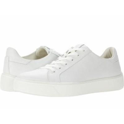 エコー レディース スニーカー シューズ Street Tray Sneaker White Cow Leath