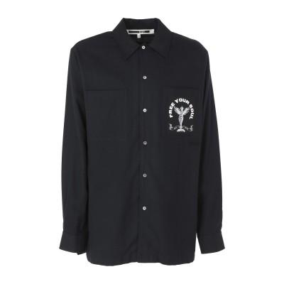 マックキュー アレキサンダー・マックイーン McQ Alexander McQueen シャツ ブラック 48 コットン 100% シャツ