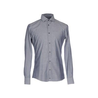 SSEINSE シャツ ブルー M コットン 100% シャツ