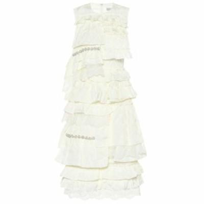 モンクレール Moncler Genius レディース ワンピース ワンピース・ドレス 4 MONCLER SIMONE ROCHA ruffled dress