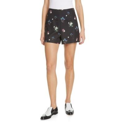 テッドベーカー レディース カジュアルパンツ ボトムス Naomii Oracle Ditsy Shorts BLACK