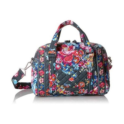 Vera Bradley Women's Signature Cotton 100 Satchel Purse, Pretty Posies, One Size