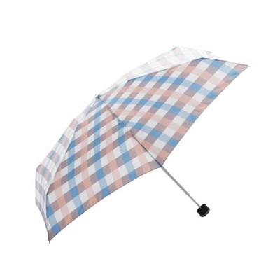HUS. スマートデュオAir パステルチェック ピンク│レインウェア・雨具 折り畳み傘 東急ハンズ