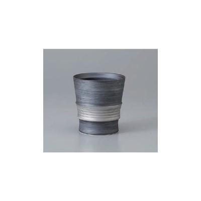 ロックカップ 焼酎カップ 有田焼 銀彩ワビカップ 日本製