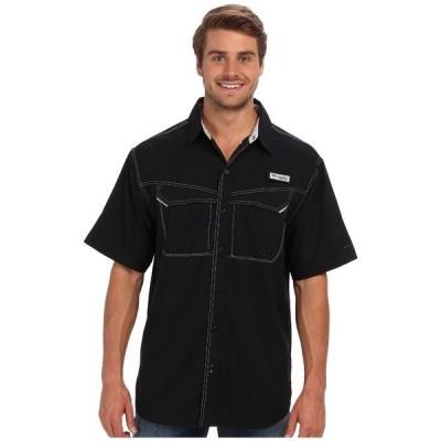 コロンビア シャツ トップス メンズ Low Drag Offshore S/S Shirt Black