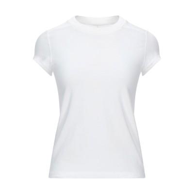リック オウエンス RICK OWENS T シャツ ホワイト 38 コットン 100% T シャツ