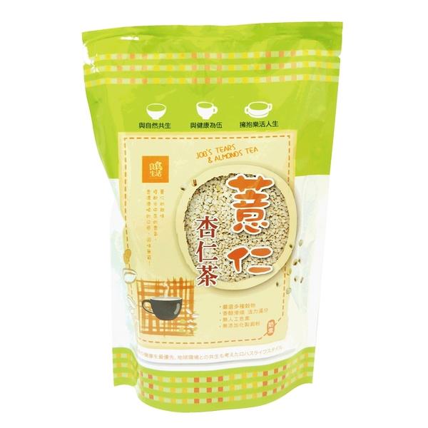 【良食生活】杏仁薏仁茶375g■無添加化製澱粉■奶素