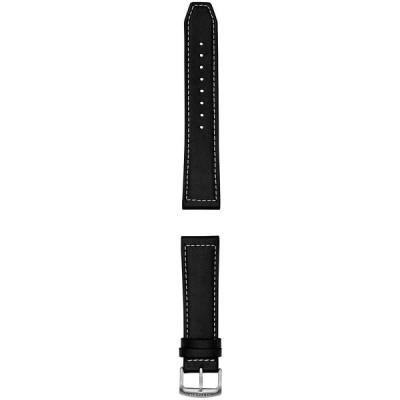 シチズン 腕時計 アクセサリー メンズ Men's CZ Smart Black Leather Smart Watch Strap Black Leather