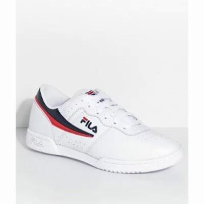 フィラ スニーカー Original Fitness White Shoes White