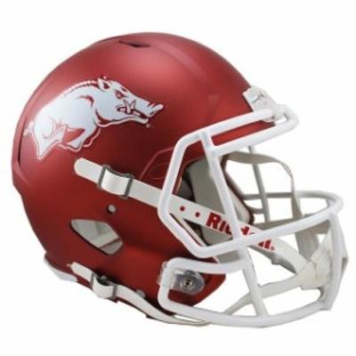 Riddell リデル スポーツ用品  Riddell Arkansas Razorbacks Revolution Speed Full-Size Replica Football Helmet