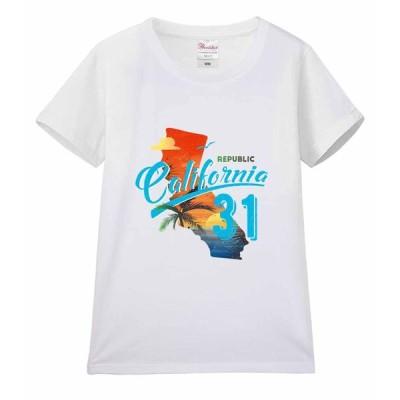 【カリフォルニア・サンセット】レディース 半袖 Tシャツ
