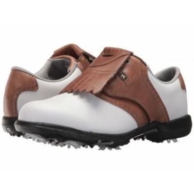 FootJoy フットジョイ レディース 女性用 シューズ 靴 スニーカー 運動靴 DryJoys Cleated Traditional Blucher Saddle【送料無料】