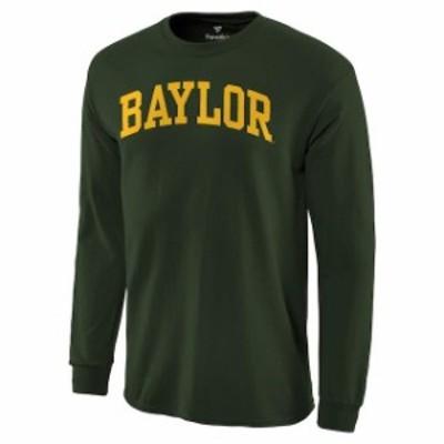 Fanatics Branded ファナティクス ブランド スポーツ用品  Baylor Bears Green Basic Arch Long Sleeve T-Shirt