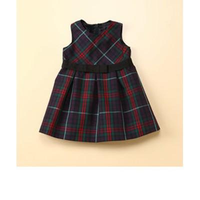 タータンチェック柄ドレス