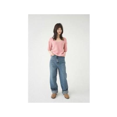 AFTERMONDAY レディース ジーンズ twisty natural denim pants