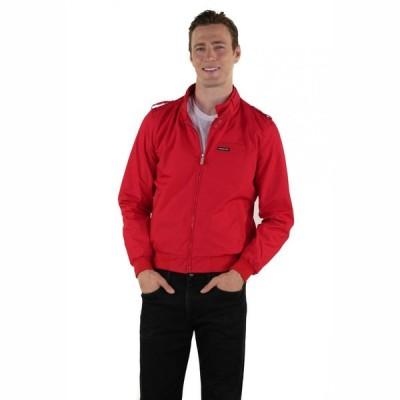 メンバーズオンリー Members Only メンズ ジャケット アウター Classic Iconic Racer Jacket red