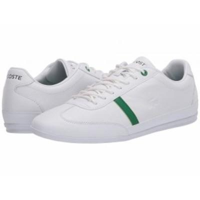 Lacoste ラコステ メンズ 男性用 シューズ 靴 スニーカー 運動靴 Misano 120 1 P White/Green【送料無料】