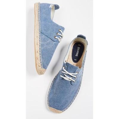ソルドス Soludos メンズ 革靴・ビジネスシューズ シューズ・靴 Canvas Derby Lace Ups Dark Blue