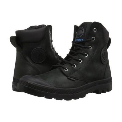 パラディウム ブーツ&レインブーツ シューズ メンズ Pampa Cuff WP Lux Black/Black