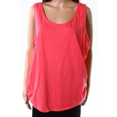 Joules ジュール ファッション トップス Joules NEW Redsky Pink Womens Size 14 Sleeveless Scoop Neck Tank Top