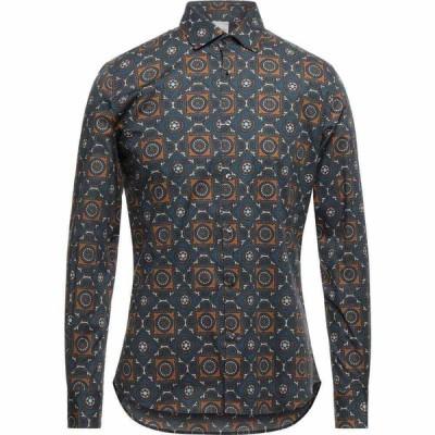 プリモエンポリオ PRIMO EMPORIO メンズ シャツ トップス patterned shirt Grey