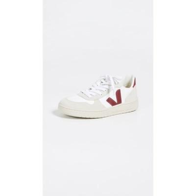 ヴェジャ Veja レディース スニーカー レースアップ シューズ・靴 V-10 Lace Up Sneakers White/Marsala
