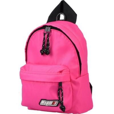 エムエスジーエム MSGM レディース バッグ backpack & fanny pack Pink