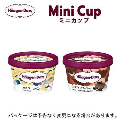 HD ハーゲンダッツ ミニカップ 12個セット バニラ・クリスプチップチョコレート(各6個)
