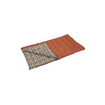キングサイズシュラフ100×200cm (AP00425/M-3414)(分類:スリーピングバッグ/寝袋/シュラフ) (キャプテンスタッグ)(QBJ37)
