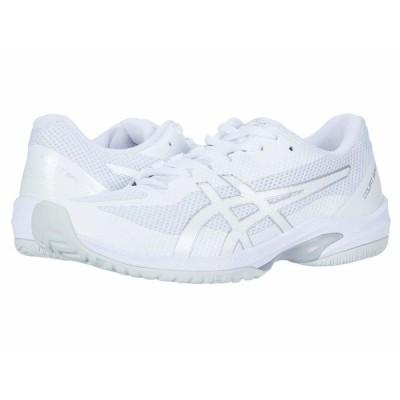 アシックス スニーカー シューズ レディース Court Speed FF White/White