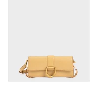【2021 SPRING 新作】メタリックバックル ショルダーバッグ / Metallic Buckle Shoulder Bag