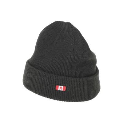 MOOSE KNUCKLES 帽子 ブラック one size ウール 100% 帽子
