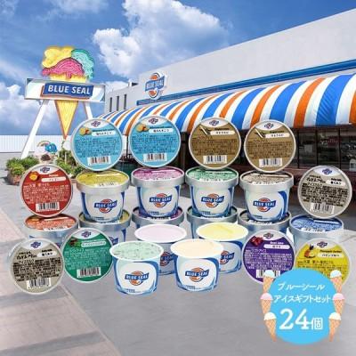 ギフト アイス スイーツ プレゼント 沖縄 ブルーシール アイスギフトセット 12種類 24個 詰め合わせ 洋菓子 フルーツ ソルベ 送料無料 SK1228 高級 母の日 2021