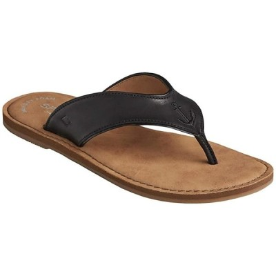 Sperry Waypoint Thong レディース サンダル Black