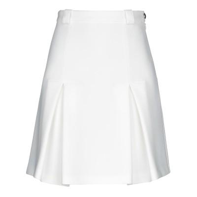 パトリツィア ペペ PATRIZIA PEPE ひざ丈スカート アイボリー 42 ポリエステル 88% / ポリウレタン 12% ひざ丈スカート