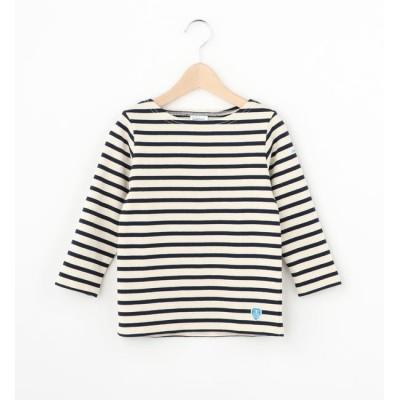 【ビショップ/Bshop】 【ORCIVAL】キッズ コットンロードフレンチバスクシャツ