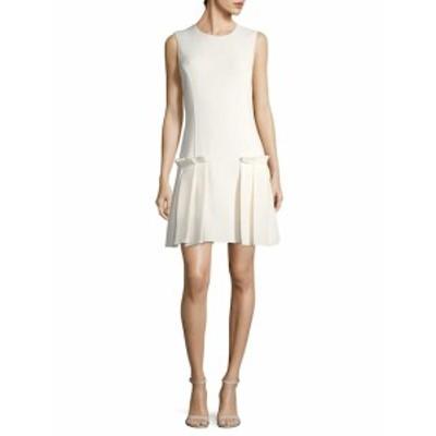 オスカーデラレンタ レディース ワンピース Wool Drop Waist Dress