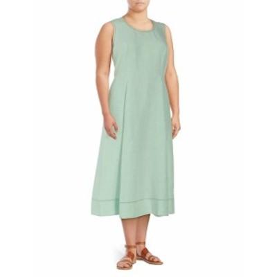 ラファイエット148ニューヨーク レディース ワンピース Plus Carressa Linen Dress