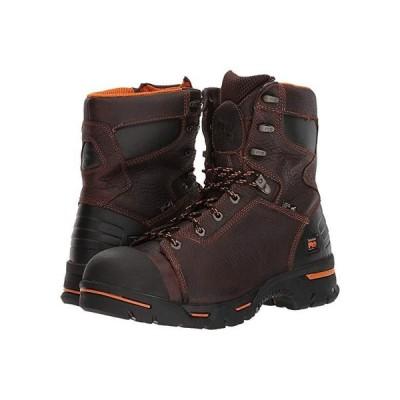 """ティンバーランド Endurance PR 8"""""""" Steel Toe メンズ ブーツ Briar"""