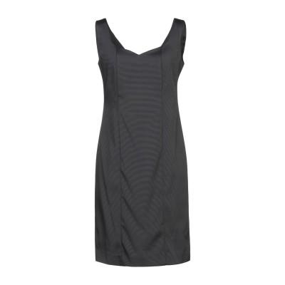ANTILEA ミニワンピース&ドレス ブラック 40 アセテート 65% / ナイロン 31% / ポリウレタン 4% ミニワンピース&ドレス