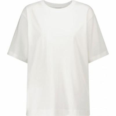 ドリス ヴァン ノッテン Dries Van Noten レディース Tシャツ トップス cotton jersey t-shirt White