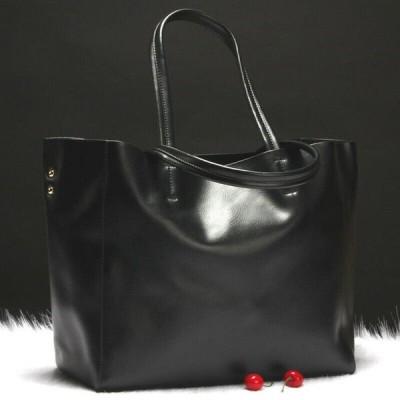 バッグ ハンドバッグ レディース New Women's Work Tote Bag Genuine Leather Purse Handbag Shoulder Bag L008