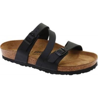 ビルケンシュトック Birkenstock レディース サンダル・ミュール シューズ・靴 Salina Strappy Slide Black Birko/Flor