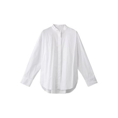 HELIOPOLE エリオポール スタンドカラーシャツ レディース ホワイト 38