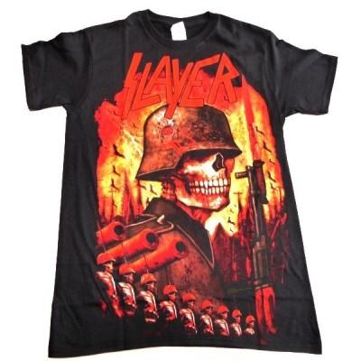 SLAYER スレイヤー INVASION Back Print オフィシャル バンドTシャツ / 2枚までメール便対応可