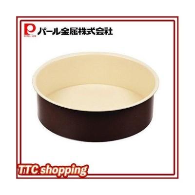 ラフィネ ふっ素加工 デコレーション ケーキ 焼型 18cm 底取れ式 日本製 D-6103 パール金属