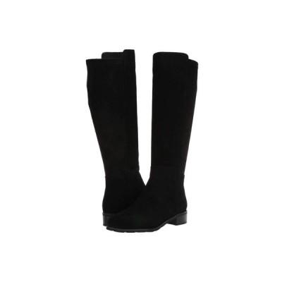 VALDINI レディース ブーツ シューズ・靴 Bety Waterproof Boot Black Suede/Stretch