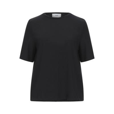 RAME T シャツ ブラック 0 コットン 100% T シャツ