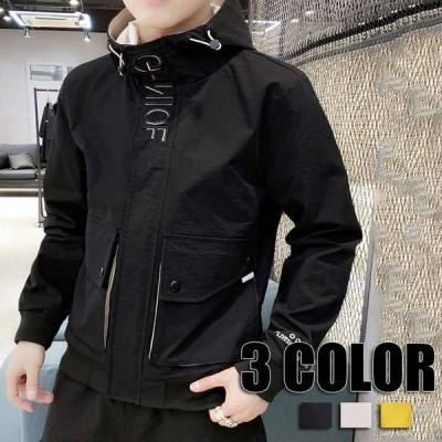 メンズ ミリタリージャケット アウター メンズ カジュアル ミリタリー 秋冬 ジャケット マウンテンパーカー メンズ 3色