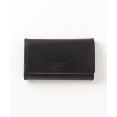 MARGARET HOWELL idea / MARGARET HOWELL idea(マーガレット・ハウエル アイデア) エージングエフェクトキーケース付き札入れ MEN 財布/小物 > 財布